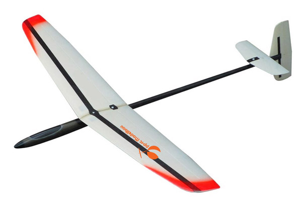 DLG-Sailplane HR · Long Shot 4 F3K CFK/AFK/GFK 1,49m-Orange-image