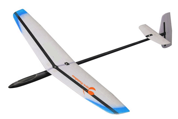 DLG-Sailplane HR · Long Shot 4 F3K CFK/AFK/GFK 1,49m-Red-image