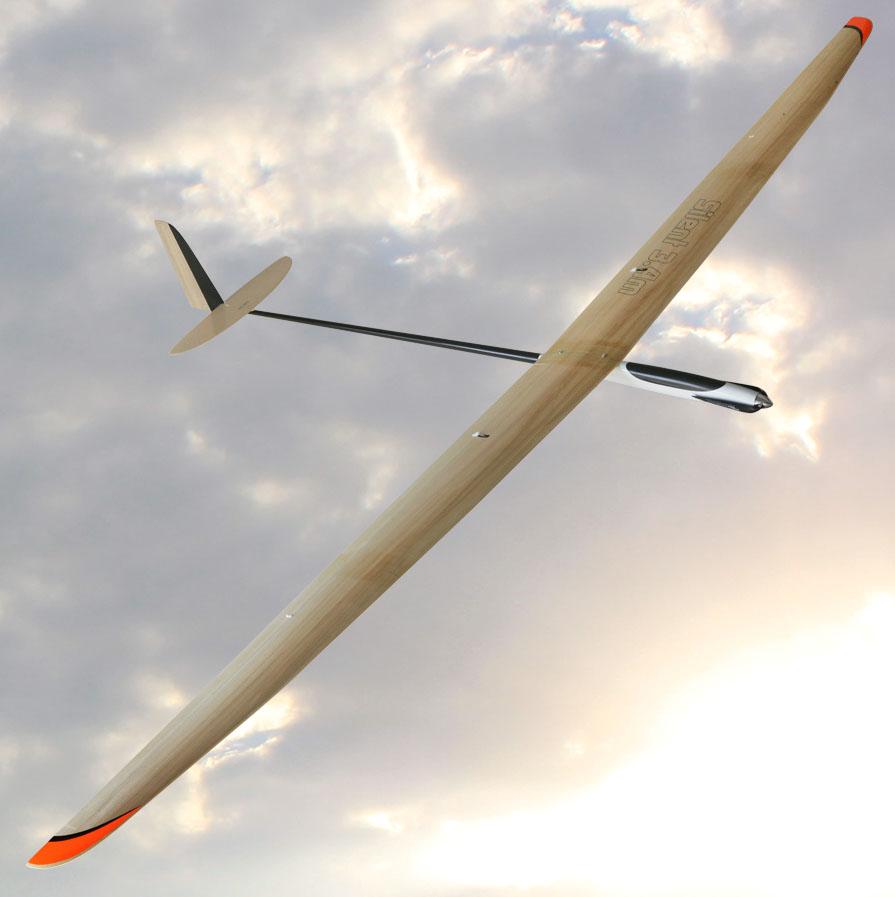 Electric powered glider Silent-E Pro 3,4m (F5J)