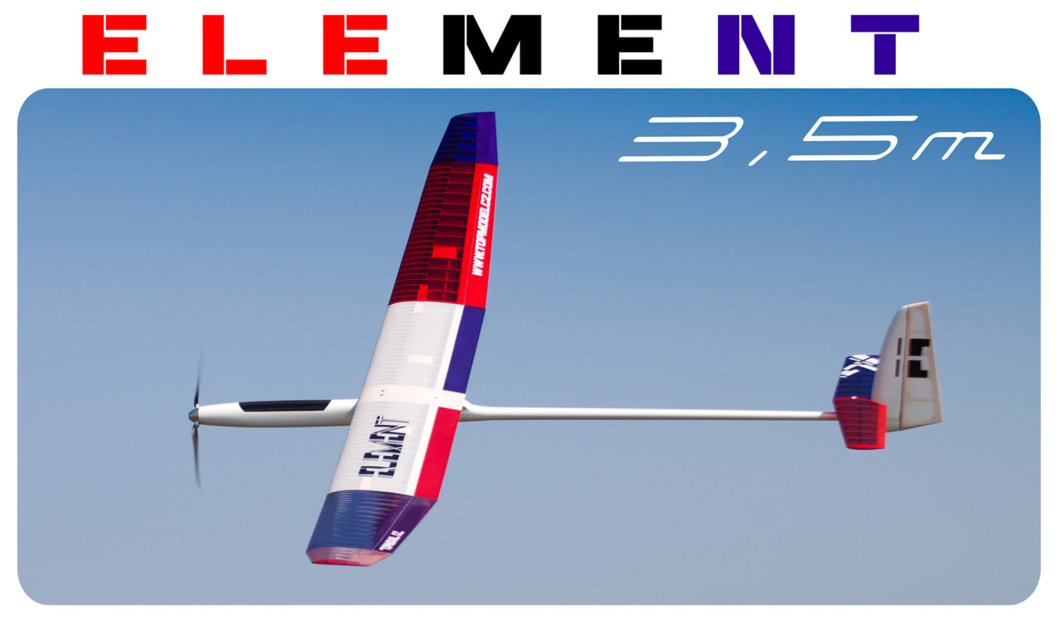 F5J performance electric glider TM Element 3,50m - Image 17