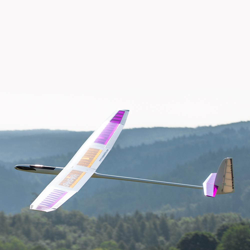 F5J performance electric glider with flaps TM Samsara 3,20m-White covered-image